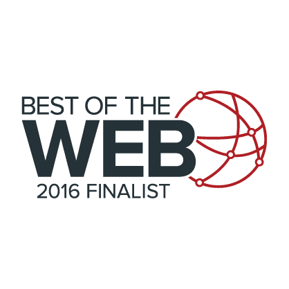 Best of Web 2016 Finalist
